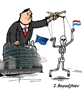 Government has become a puppet on a string commanded by Brussels