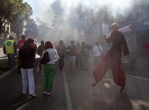 Manifestation à Draguignan